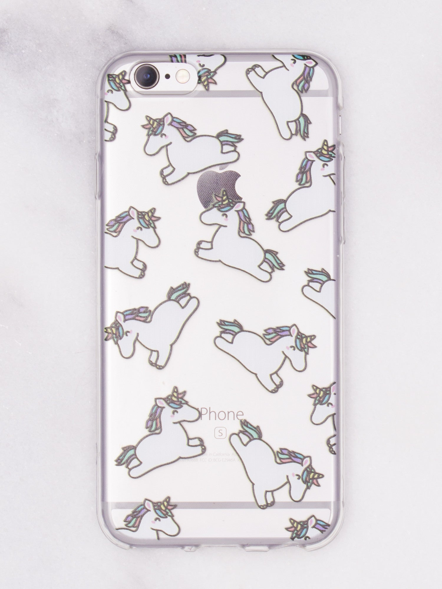 Unicorn Cutie iPhone Case - Gold Soul