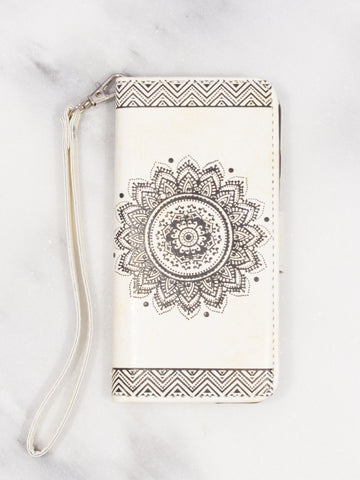 Henna Wallet iPhone Case - Gold Soul - 1