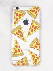 Pizza lover iPhone Case - Gold Soul
