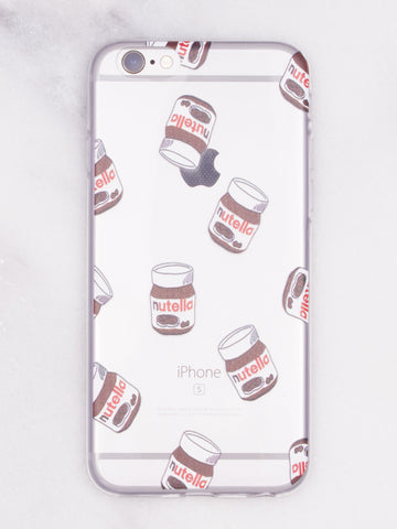 Nutella Nutella iPhone Case - Gold Soul