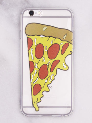 Pizza Slice iPhone Case - Gold Soul