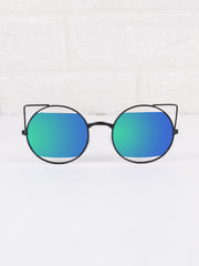 Cat Eye Retro Salem Sunnies - Gold Soul - 1