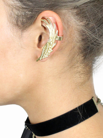 Wing Ear Cuff - Gold Soul