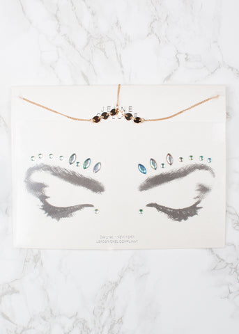 Goddess Face Gems & Head Chain