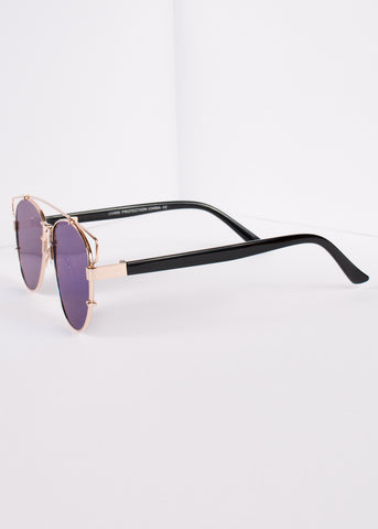 Aviator Flat Lens Planet X Sunnies