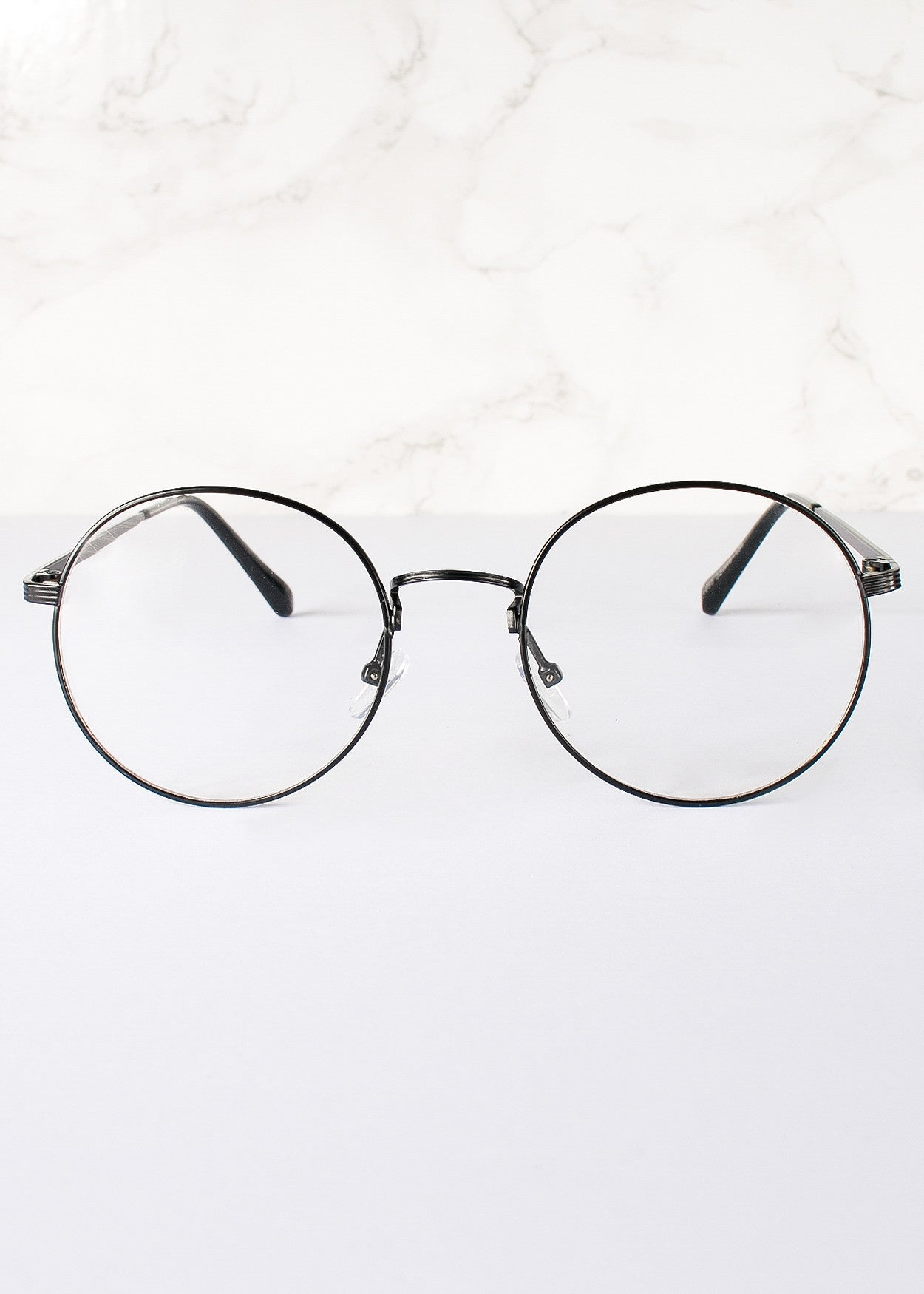 Round Clear Lens Rita Glasses