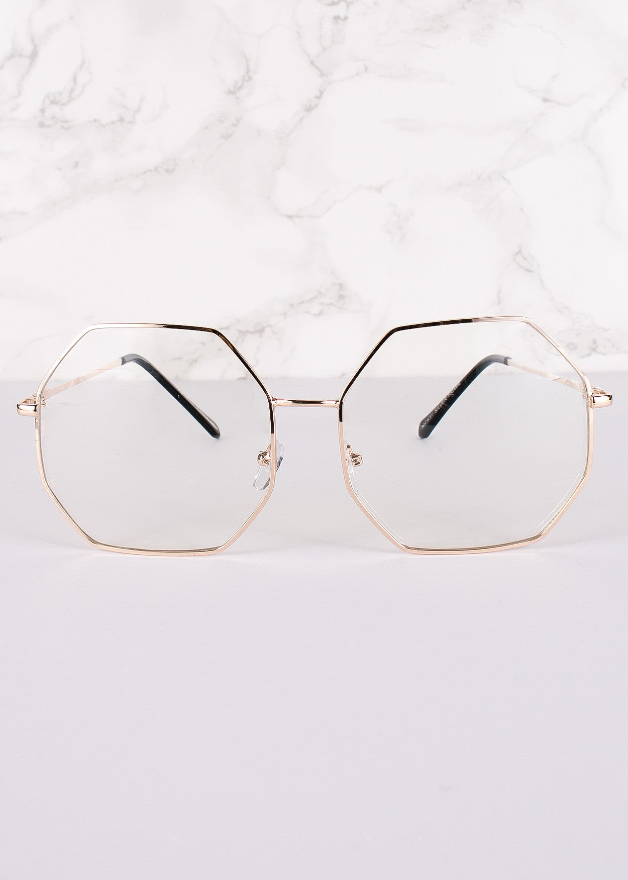 Oversized Clear Lens Anna Glasses