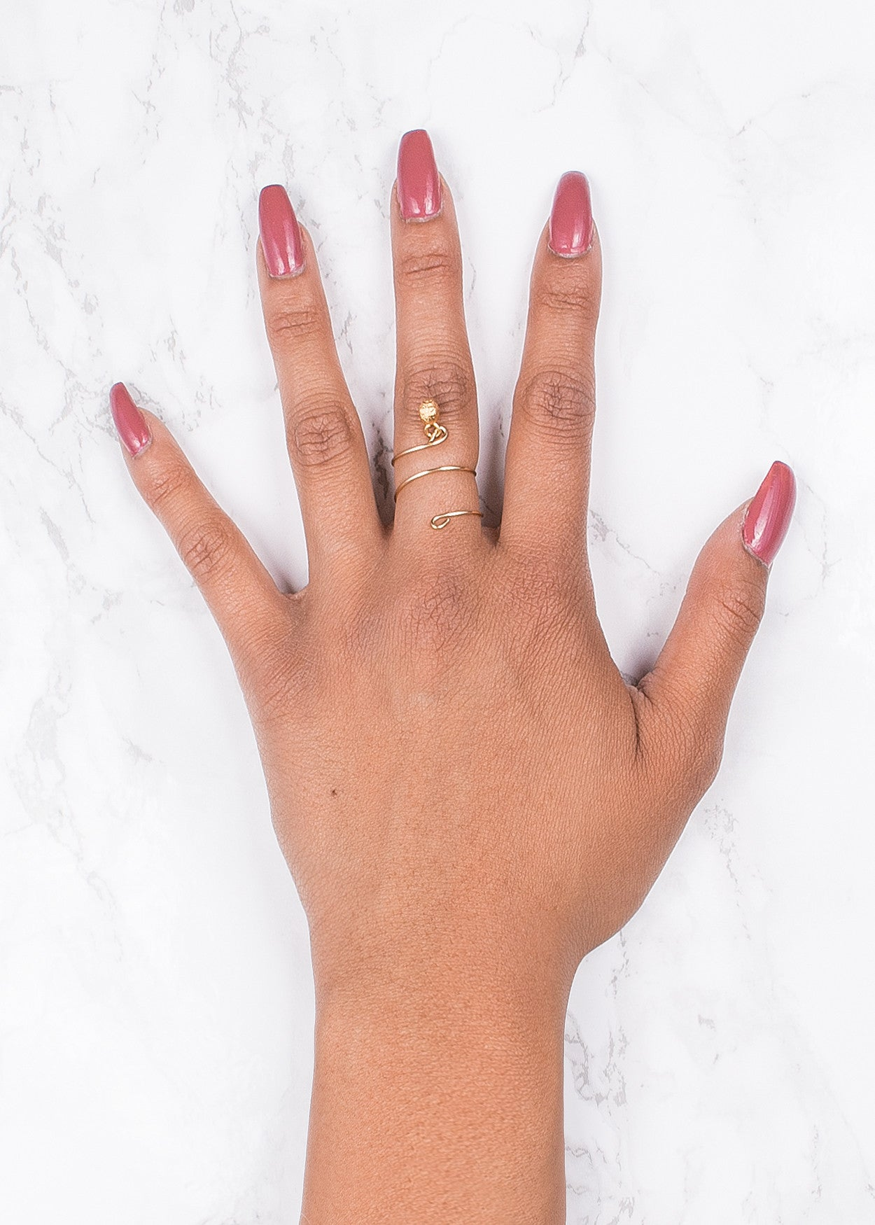 Wire Wrap Midi Ring