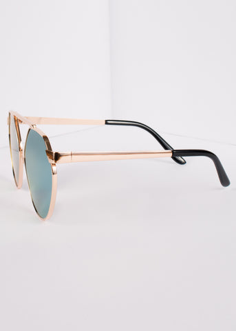 Ascension Round Mirrored Sunnies