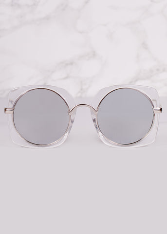 Divinity Round Mirrored Sunnies