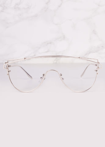 Goddess Aviator Clear Lens