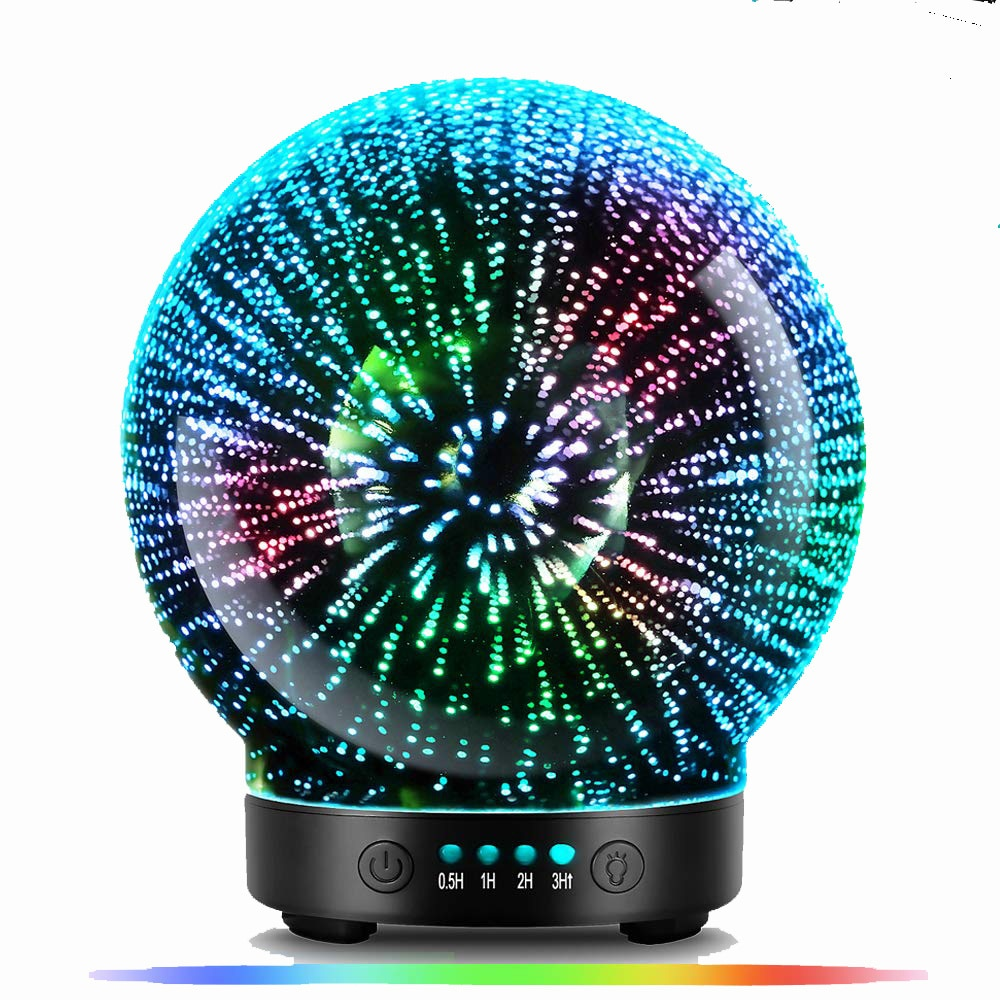 7 Color Lighting Essential Oil Diffuser