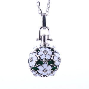 Music Locket Ball Necklace