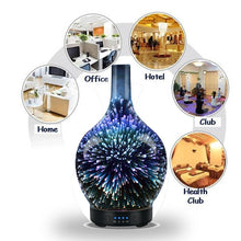 Load image into Gallery viewer, 3D 7 Colour Light Aromatherapy Diffuser