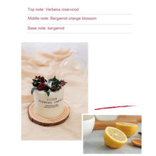 Load image into Gallery viewer, Aromatherapy Romantic Soy Wax Candle