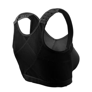 Women's Back Support Posture Corrector Wireless Bra
