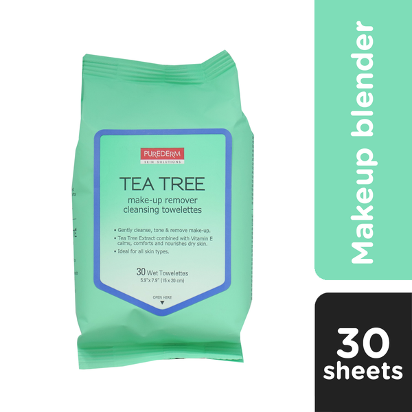 PUREDERM Make-Up Remover Cleansing Towelettes