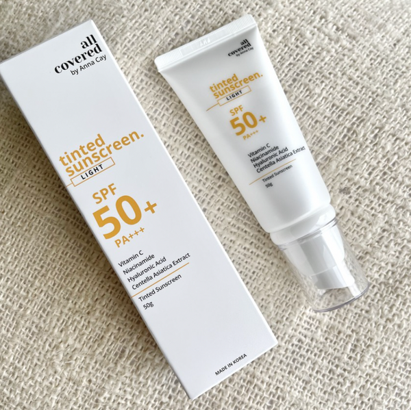 All Covered by Anna Cay Tinted Sunscreen SPF50 50ml