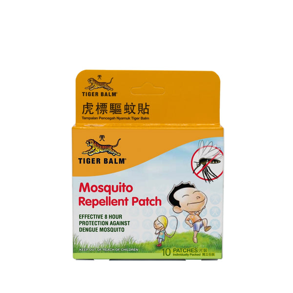 Tigerbalm Mosquito Repellent Patches 10pcs