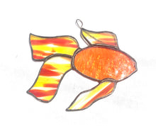Load image into Gallery viewer, Stained Glass Koi Fish Suncatcher