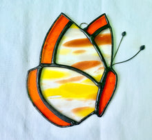 Load image into Gallery viewer, Stained Glass Butterfly Suncatcher