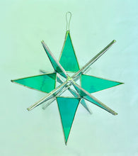 Load image into Gallery viewer, Stained Glass 3-D Stars