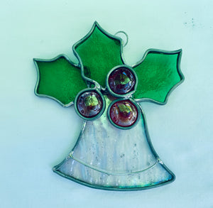 Stained Glass Christmas Bell