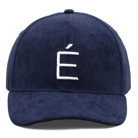 Navy Blue Suede (Curved)