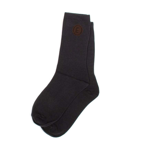 Navy Crew Socks