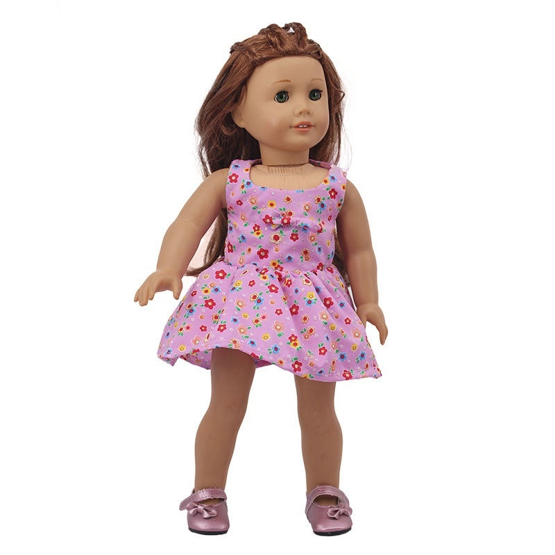 Cute Doll Clothes Fit 18 Inch American Doll Our Generation and Journey doll Doll Etc for Chrid Christmas Gift