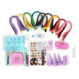 Quilling Strips Kit Paper Strip Craft Tools For DIY 20 Pcs/Set All-in-one