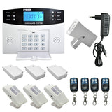 Wireless SMS Security GSM Burglar Alarm Home System Detector Sensor Call