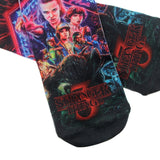 1 Pair Stranger Things Socks Magical Sock Personalized Pure Cotton Socks Photos Must Fashion Socks Unisex Sock Hosiery S0107