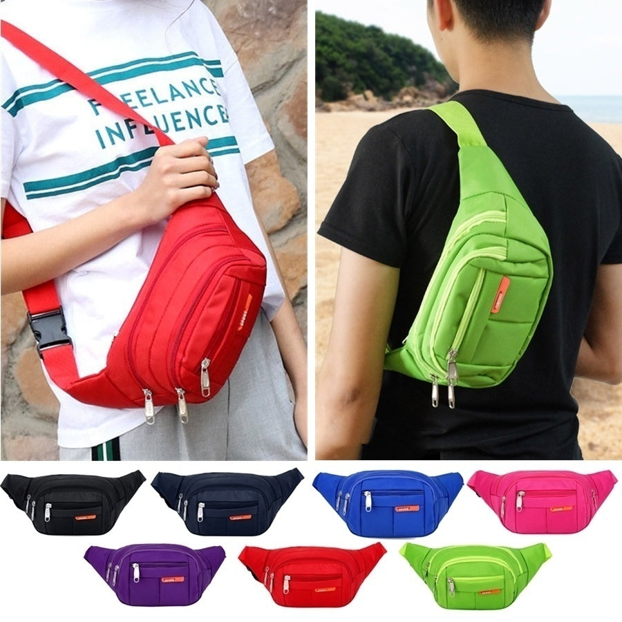 Casual Sport Waist Bag Multi-function Running Fanny Pack Outdoor Gym Hiking Travel