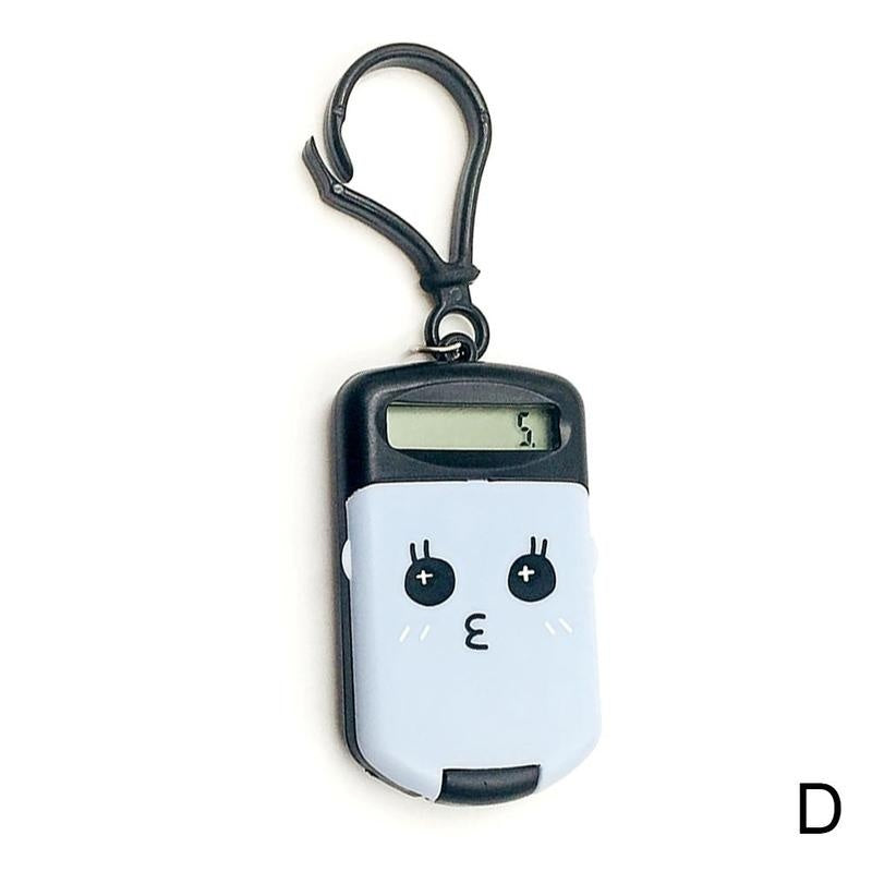 Plastic Pocket With Keyring 8 Digit Display LCD Screen Mini Calculator