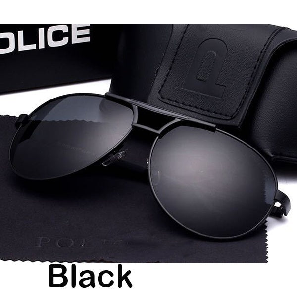 New Fashion Tide Men Fishing Polarizing Glasses Sunglasses Driver Glasses 4 ColorsAnti UV 400 Driving Glasses Unsiex Round Sunglasses
