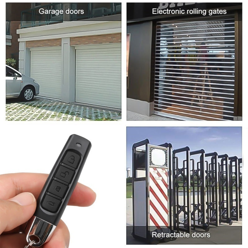 433MHZ Remote Control Garage Gate Door Opener Remote Control Duplicator Clone Cloning Code Car Key