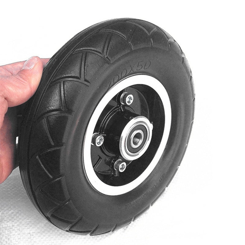 200x50 Electric Scooter Solid Wheel No Air 8 Inch Scooter Wheel with Solid Tire