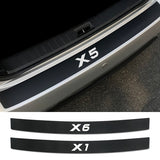 Auto Rear Trunk Guard Tag Plate for BMW X5 E70 E53 F15 X3 F25 X6 F16 E71 X1 F48 E84 X2 X4 F26 X7 Car Rear Bumper Accessories