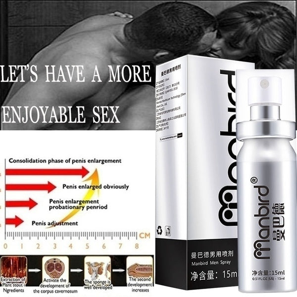 Penis Delay Spray for Men Penis Enlargment Increase Growth Thickening XXL Big Dick Erection