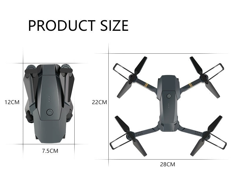 2021 Mavic Pro Clone Drone!! 4K Camera RC Drone Wifi FPV HD Adjustable Camera Dual FPV HD Camera RC Drone Gravity Sensing   Optical Flow Positioning   Auto Follow   360¡ã Flipping   Real-Time Transmission   Mobile Control  3 Batteries