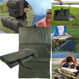Lightweight Portable Foldable Unhooking Mat for Fish Protection Carp Fishing Tackle Fishing accessories Gifts for papa boyfriends