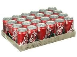 Coca Cola Case of 24 cans, 330ml Coke (4