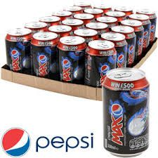 Pepsi MAx Case of 24 cans, 24x330ml
