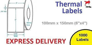 5000 Direct Thermal Printer Labels self adhesive Zebra
