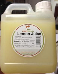 1 Litre Lemon Juice