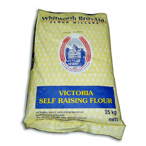 25kg Victoria Self Raising Flour - Whitworth Bros