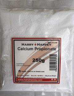 12 x 250g Calcium Propionate Propanoate, full case