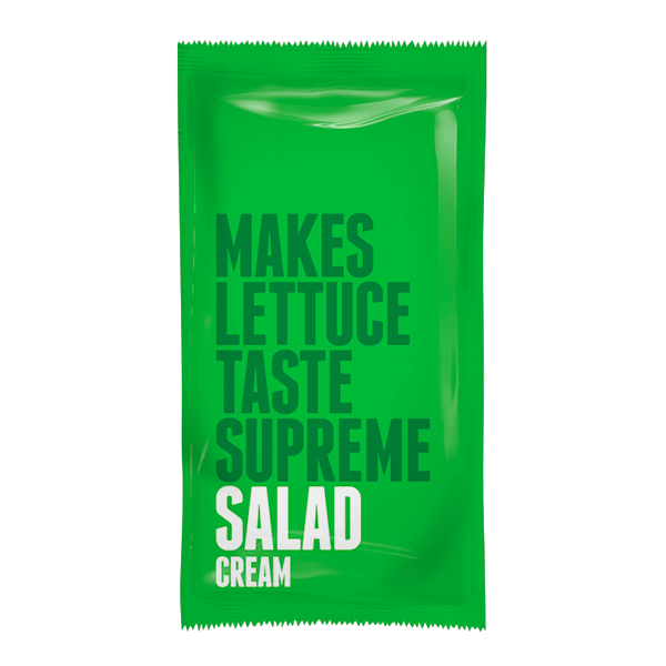 Salad Cream 10g Sachets - Full Case 198 x 10g