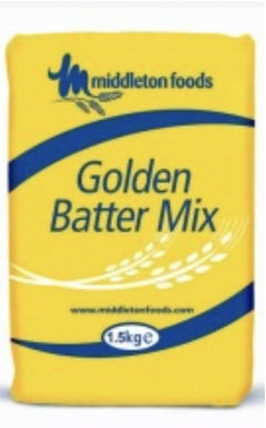 Middletons Golden Fish Batter Mix 1.5kg